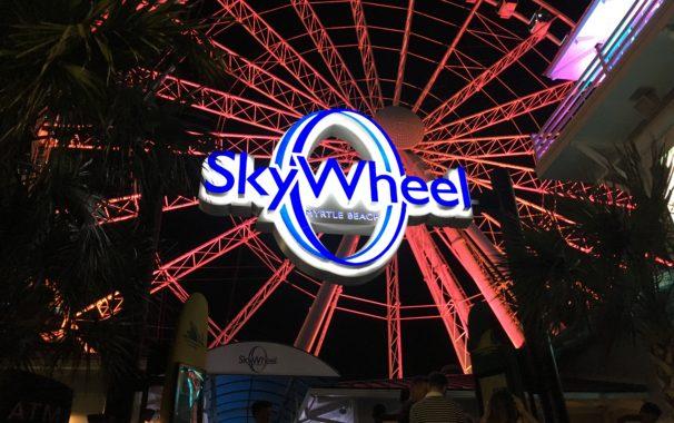 Myrtle Beach Traveler Guide Sky Wheel